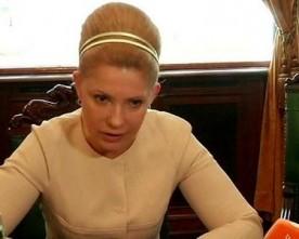 Тимошенко відмовилась від розмови з пресою