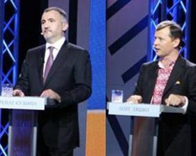 Національні теледебати — 6: Ляшко-Кузьмін, формат розважальний