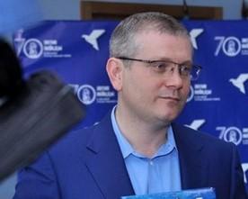 У Дніпропетровську журналісти на висування Вілкула у кандидати «проривалися» з міліцією