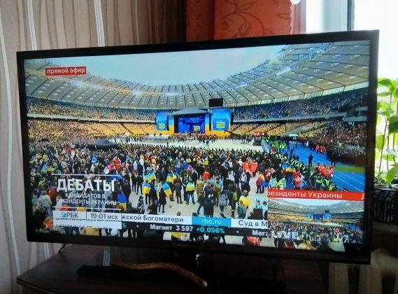 У Росії українські дебати транслюють сім телеканалів