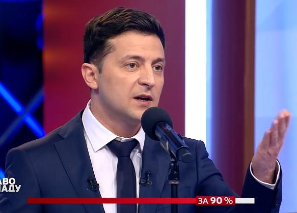 Володимир Зеленський: Я не ховаюсь від журналістів. Це така стратегія