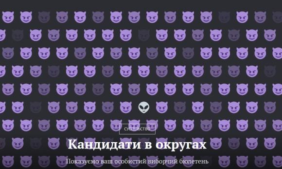 Zaxid.net створив карту округів з усіма кандидатами, які балотуються на Львівщині